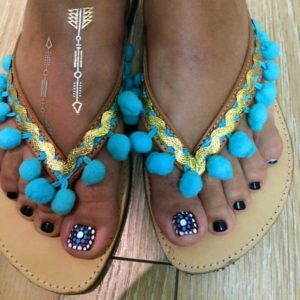 Customised Boho Σανδάλια για τις Μικρές και Μεγάλες Κυρίες
